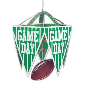 Beistle 50127 Game Day Pennant Chandelier, 111/2 by 171/2-Inch