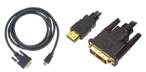 Pyle-Home PHDMDVI6 High Definition HDMI Male to DVI Male Video Cable 6-Feet