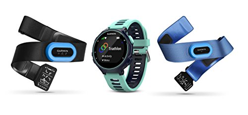 Click to buy Garmin Forerunner 735XT - Midnight Blue & Frost Blue Tri-Bundle - From only $549.99