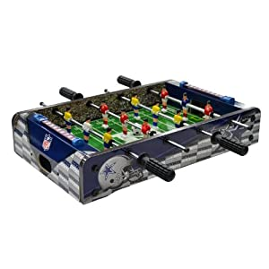 NFL Dallas Cowboys Table Top Foosball, Navy Silver White, 20-Inch by Imperial