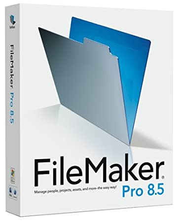 FileMaker Pro 8.5 Win/Mac