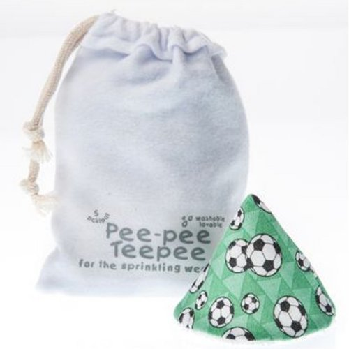 Pee-pee Teepee for Sprinkling WeeWee - Soccer with Laundry Bag