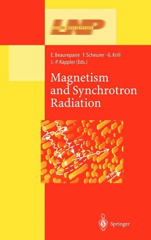 magnetism-and-synchrotron-radiation-lecture-notes-in-physics