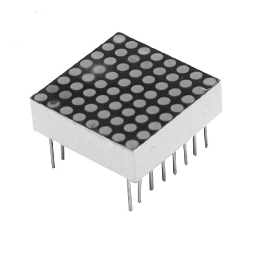 8*8 Super Red Common Anode 16Pins Led Dot Matrix Tube Module 20 X 20Mm