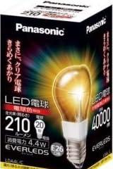 パナソニック LDA4LC LED電球 4.4W (電球色相当)