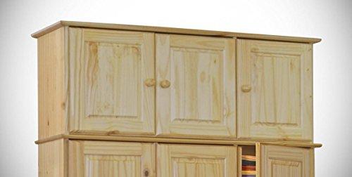 Aufsatz-fr-Kleiderschrank-CLASSIC-3-Tren-Kiefer-massiv-lackiert