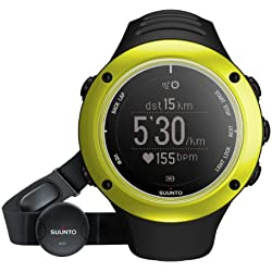 Suunto Ambit2 S (HR) - Reloj con GPS integrado, color lima / negro
