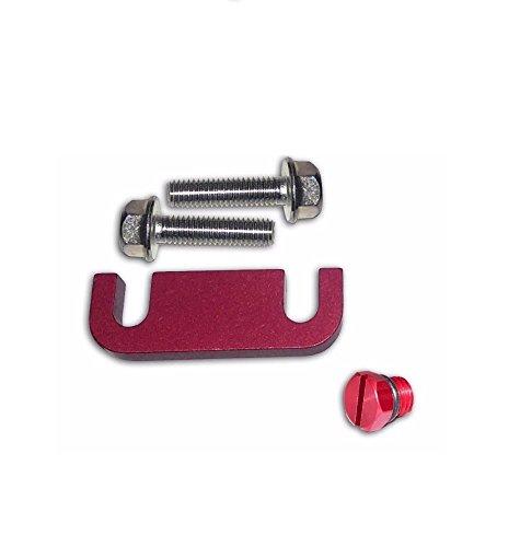 duramax fuel filter head housing spacer kit with bleeder