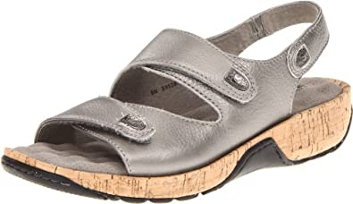 Softwalk Women's Bolivia Flat,Pewter,5 M US