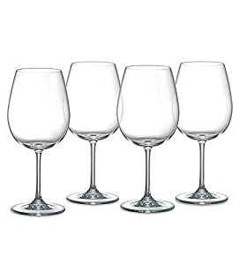 Waterford marquis vintage balloon crystal red wine glasses set of 4 wine glasses - Waterford colored wine glasses ...