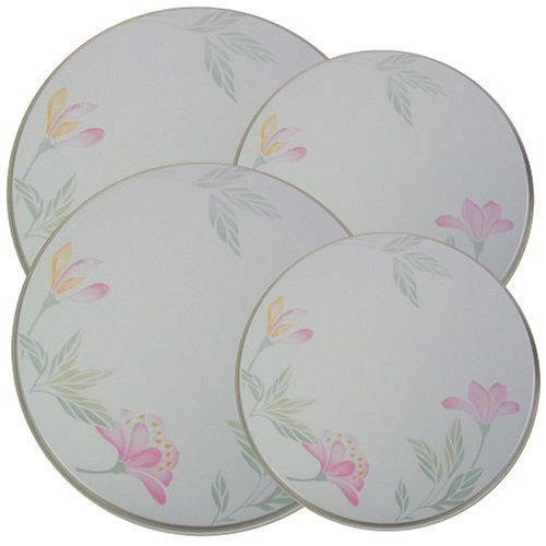 Corelle Coordinates Pink Trio Economy Burner Covers, Set of 4 (Decorative Stove Burner Covers compare prices)