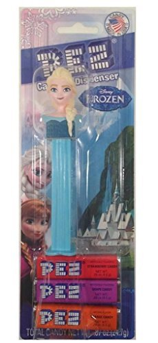 Pez Candy Dispenser: Disney Frozen Elsa Blister Card - 1