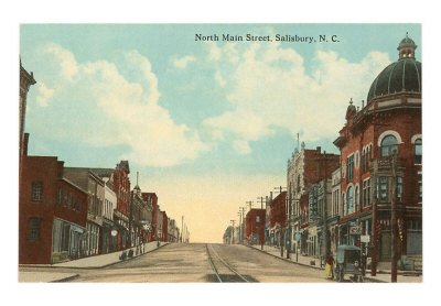 North Main Street, Salisbury, North Carolina print