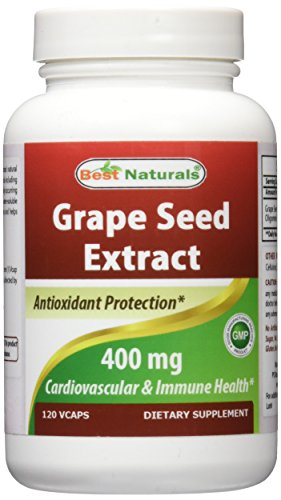 Best Naturals Grape Seed Extract 400
