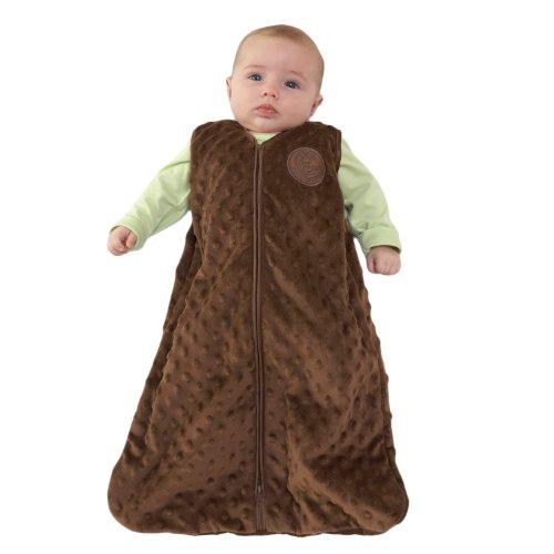 Halo Sleepsack Micro Fleece Wearable Blanket, Chocolate, Large