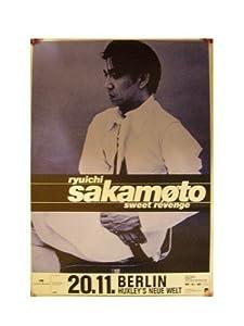 Ryuichi Sakamoto Poster Sweet Revenge Berlin Tour