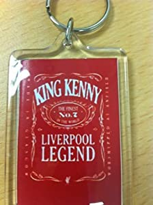 Kenny Dalglish - King Kenny Key Ring Liverpool Fc by Footie-Gifts