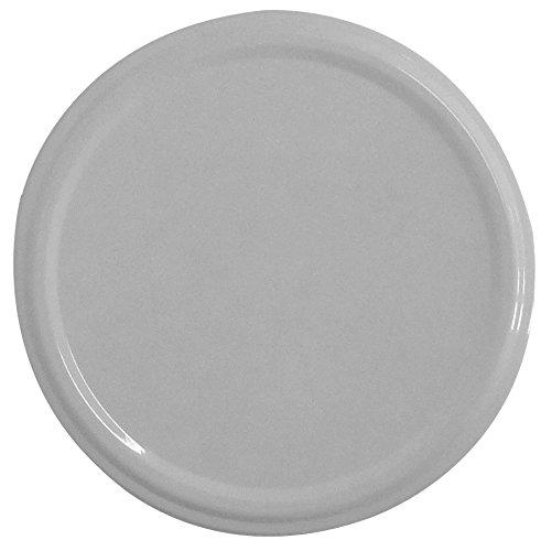 Twist-Off-Deckel TO82, Schraubdeckel Ø 82mm, Deckel für Gläser, Farbe: Weiß (6)