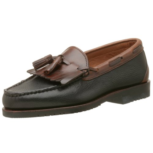 Allen Edmonds Men's Nashua Moccasin,Black Green/Brown,9 D