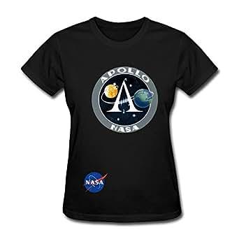 Vintage Apollo Nasa Logo Next Planet Women's T Shirt ...