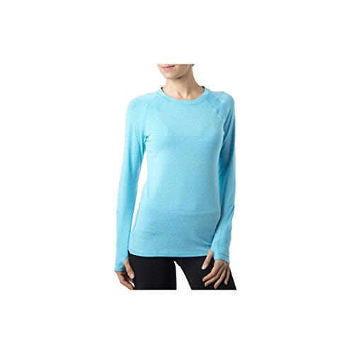 Tasc Performance Adspire Fitness Yoga Long Sleeve Upf 50+ Long Sleeve Tee Shirt, Surf'S Up, X-Large front-10899