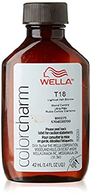 Wella Color Charm T18 Lightest Ash Blonde Toner