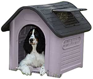 Guardian Gear Happy Home Dog House, Deluxe, Grey