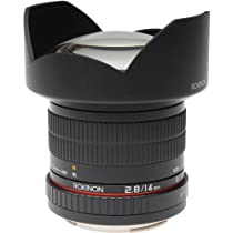 Rokinon FE14M-MFT 14mm F2.8 Ultra Wide Lens for Micro Four-Thirds Mount and Fixed Lens for Olympus/Panasonic Micro 4/3 Cameras