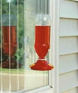 Soda Bottle Window Hummingbird Feeder, set of 6 MADE IN USA
