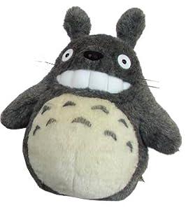 "Totoro: 12"" Smiling Dark Gray Totoro from Sun Arrow"