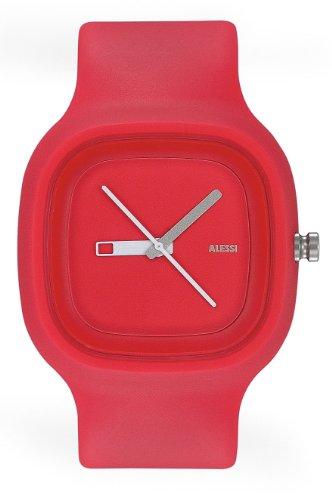 Alessi - 372AL10005 - Montre Femme - Quartz - Analogique - Bracelet Plastique Orange