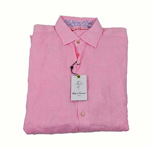 robert-graham-double-tap-pink-woven-large-long-sleeve-shirt