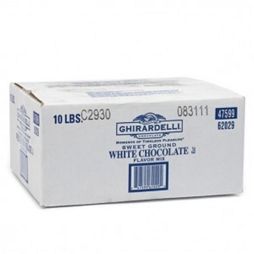 Ghirardelli Chocolate Sweet Ground White Chocolate Flavor Beverage Mix, 25-Pound Package (Ghirardelli Beverage compare prices)