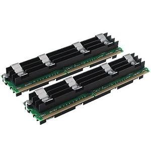 Crucial Technology - CT2KIT25672AP80E - Crucial 4GB DDR2 SDRAM Memory Module - 4GB (2 x 2GB) - 800MHz DDR2-800/PC2-6400 - ECC - DDR2 SDRAM - 240-pin DIMM