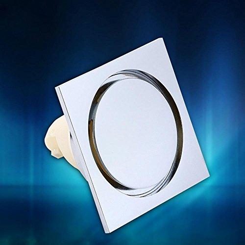 CU Élégant drain de plancher sec/humide haute qualité cuivre et résistant aux odeurs parasites drain de plancher