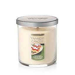 Yankee Candle Christmas Cookie Small Single Wick Tumbler Candle, Festive Scent