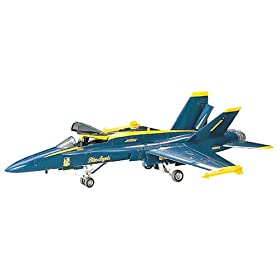 Blue Angels F-18 Hornet  Phantom Plastic Model Kit