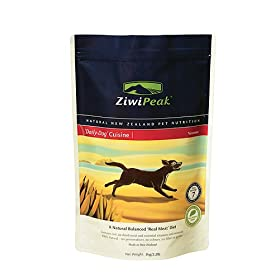 ZiwiPeak 'Daily-Dog' Cuisine; Air-Dried New Zealand Dog Food; Venison; 2.2 lb bag
