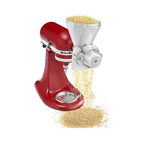 KitchenAid Grain Mill Attachment, Zinc (Kitchenaid Attachments Flour Mill compare prices)
