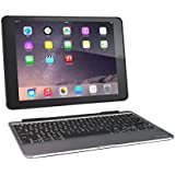 ZAGG Slim Book Case Ultrathin Hinged With Detachable Backlit Keyboard For IPad Air 2 - Black Discontinued By Manufacturer (ID6ZF2-BB0)
