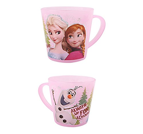 bestforyour Frozen Pink Souvenir Plastic Party Cup 235ml(1EA) + Screen cleaner