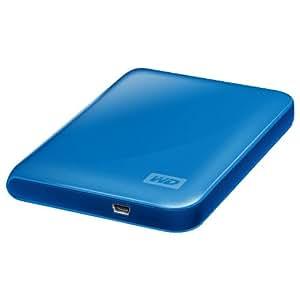 "Western Digital My Passport Essential Disque dur Externe 2,5"" USB 2,0 500 Go Bleu"