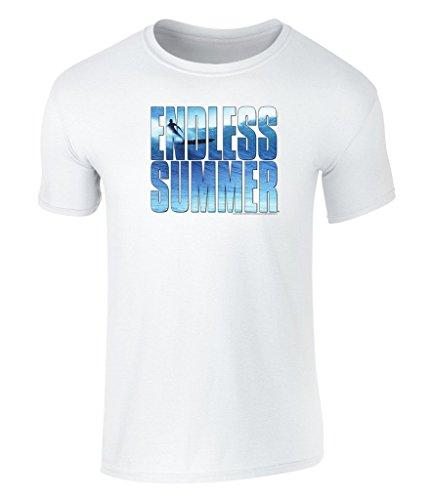 the-endless-summer-offiziell-lizenziertes-unisex-t-shirt-mit-top-of-the-world-surf-grafik-weiss-smal