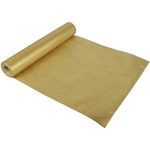 chemin de table nappe rouleau de 12m x 40 cm or. Black Bedroom Furniture Sets. Home Design Ideas