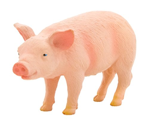 Mojo Fun Piglet with Head Raised Figure