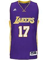 adidas Los Angeles Lakers Men's Jeremy Lin #17 NBA Swingman Jersey