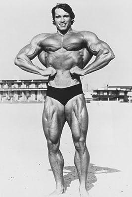 Arnold Schwarzenegger Body Building Pose 24x36 Poster