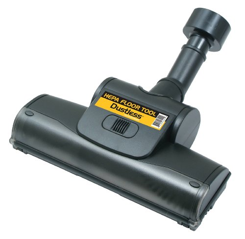 Dustless Technologies 13242 HEPA HEAD Floor Tool with Beater Bar, Black (Epa Vacuum Cleaner compare prices)