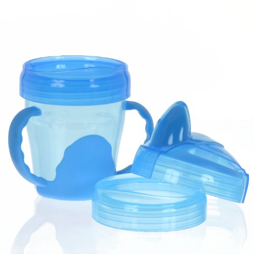 Vital Baby 3 Stage Trainer Cup, Blue, 7 Ounce