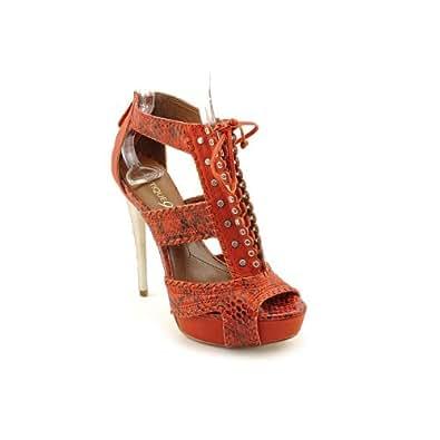 Boutique 9 Women's Caphis Platform Sandal,Red,7 M US